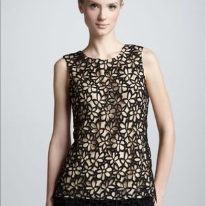 Lelaros for Newman Marcus lace top