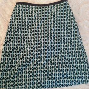 Boden Dresses & Skirts - 🆕 Boden Teal & Navy Skirt