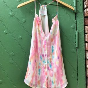 Rory Beca Tops - Rory Beca for forever 21 watercolor top
