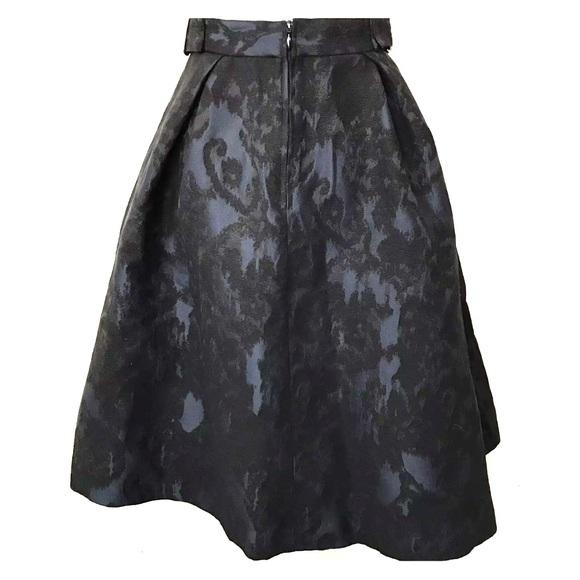 59 h m dresses skirts h m black blue midi skirt