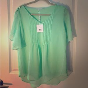 milano Tops - NWT light green blouse