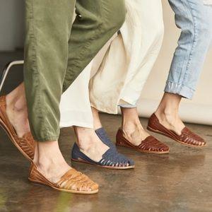 Nisolo Shoes - Nisolo Ecuador Hurache Indigo Sandal Sz. 7