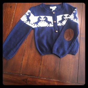 Pumpkin Patch Other - Toddler girls horse sweater, new!