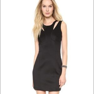 Milly Dresses & Skirts - Milly Double Strap Sheath Black Dress
