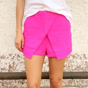 Pants - NWT Women's Hot Pink Skort