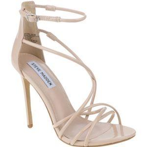 c6166dea881 Steve Madden Shoes - Steve Madden Satire Nude patent sandal