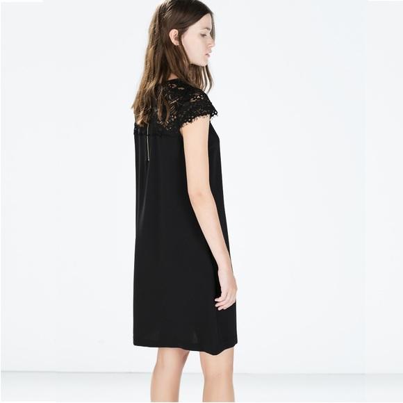 51bea270cd61 Zara Dresses | Sale Z A R A Woman Lace Shift Dress | Poshmark