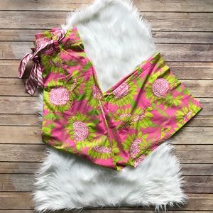 Lilly Pulitzer Wide Leg Palazzo Pants Pink Soleil