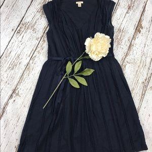 J. Crew Dresses & Skirts - 💕SALE💕 J.Crew Navy Eyelet Summer Dress