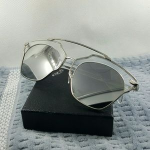Accessories - Round frame vintage Style woman Fashion Sunglasses