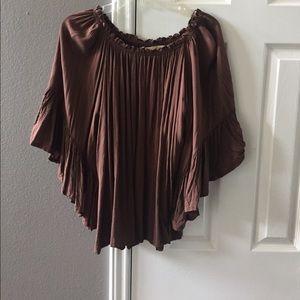 Tops - Off the shoulder blouse.