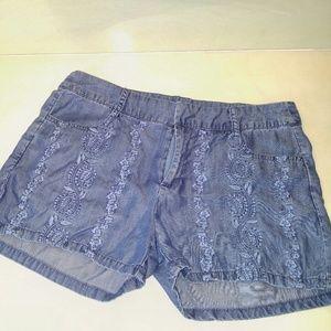 Alya Pants - ❗PRICE DROP❗Jean shorts with imprent design