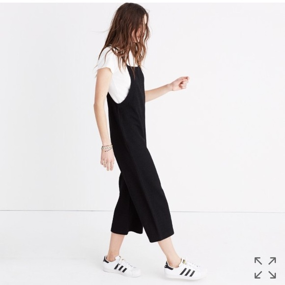 7ca670aff82 Madewell Pants - Madewell Knit Wide leg overalls   jumpsuit