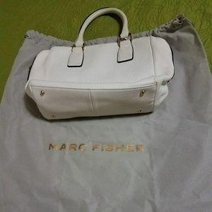 Marc Fisher Handbags - Marc Fisher Beige/Off White handbag