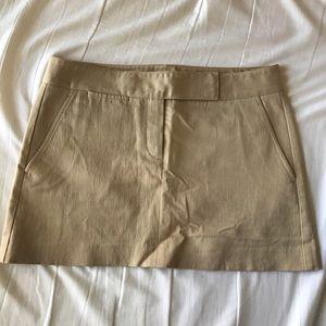 Theory - tan skirt