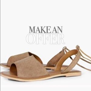 Shoes - NEW Suede Sandal