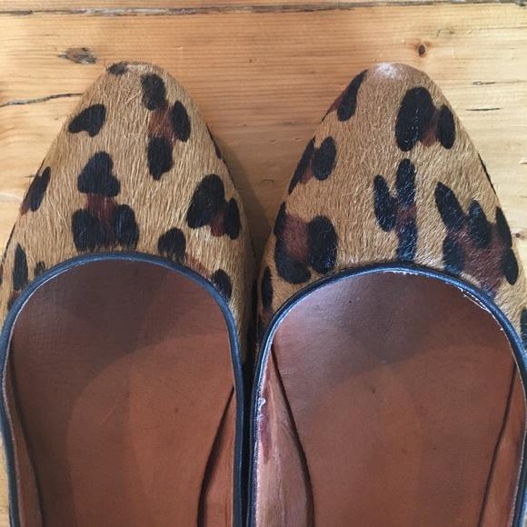 Madewell Shoes - Madewell Leopard Sidewalk Skimmer