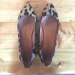 Madewell Leopard Sidewalk Skimmer