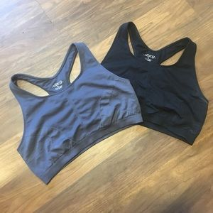 😎 2 razor back sport bras!!
