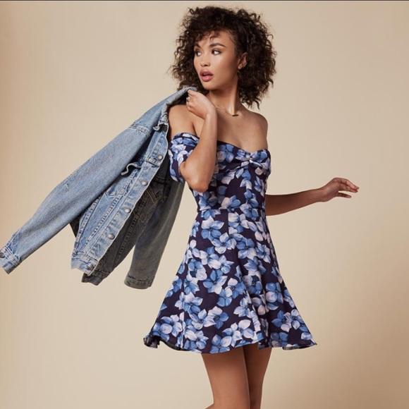 793386bee8a Reformation Rosa off the shoulder mini dress 2. M_59397bc5522b45836503591b