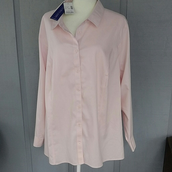 Catherines Tops Pink Plus Size Blouse 2x Sale Poshmark