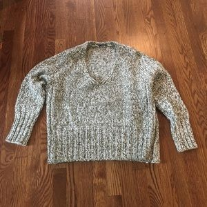 Zara Sweaters - Zara V-Neck Twist Knit Sweater
