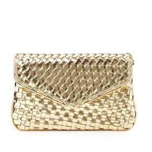 Deux Lux Handbags - Deux lux gold clutch