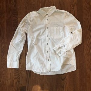 Madewell Tops - Madewell Essential White Boyshirt