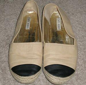 Cape Robbin  Shoes - Cape Robbin Carmen Espadrille Ballet Flats Size 7