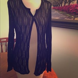 Lord & Taylor Sweaters - Open stitch cardigan