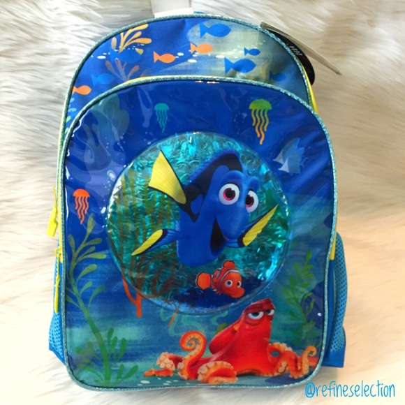 5977aa6d44 Disney Finding Nemo and Dory Backpack. NWT. Disney.  M 593992b59c6fcf834803b0cd. M 593983304225be721c00b19b.  M 593983364225be851500b1ab