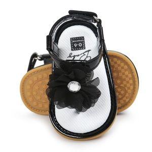 Other - Black flower sandals