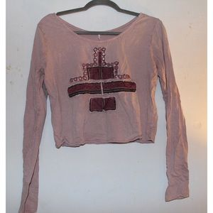 Free People slightly cropped top