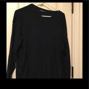 Top shop navy Blue sweater /Shirt