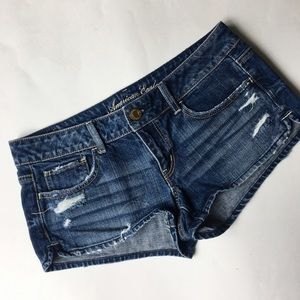 American Eagle Outfitters Pants - American eagle distressed jeans shorts