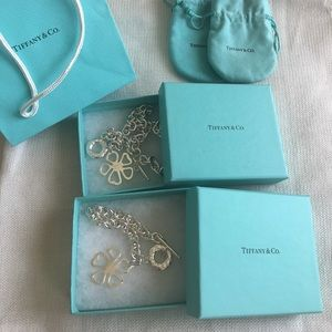 Tiffany & Co. Jewelry - Tiffany &Co  Open Flower 🌺 authentic set