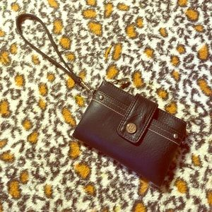 Relic Handbags - Relic black wristlet / wallet