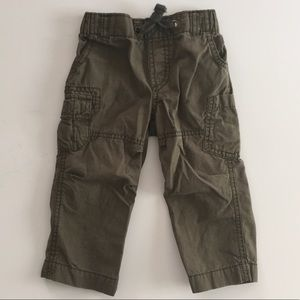 Carter's Baby Boy olive green pants 12M