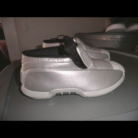 Super Rare Boys Silver Adidas Kobe 2s