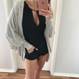 Sweaters - 2 Left • Taupe Summer Dolman Cardigan