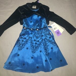Nordstrom Other - NWT Jona Michelle Girls Evening Dress