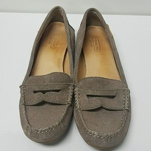 Coach loafers. Size 7 B