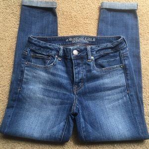 American Eagle Outfitters Stretch BoyJean, sz 4