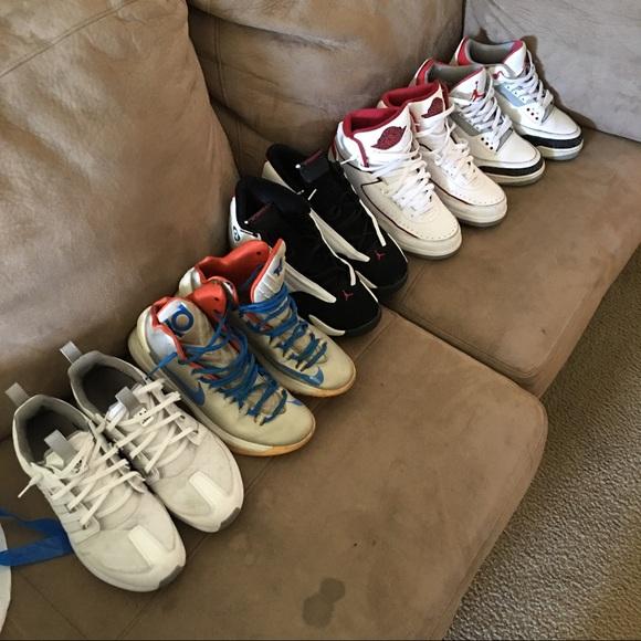 Sneaker Lot Jordans Nike Vans Adidas
