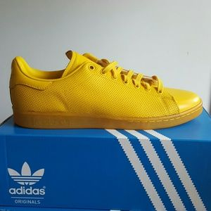 adidas Other - ADIDAS STAN SMITH YELLOW SIZE 10.5 AND 12