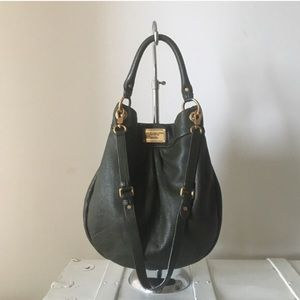 Marc by Marc Jacobs olive green leather bag