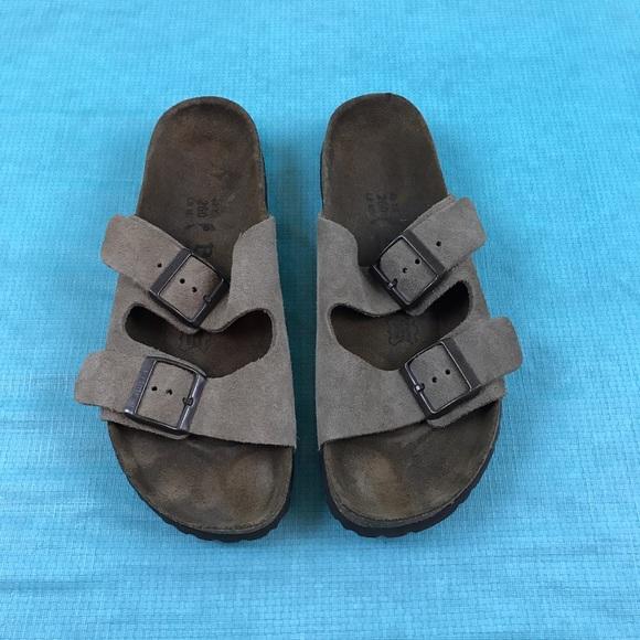 2e9b36fd8994 Birkenstock Shoes - Birkenstock betula brown 2 strap sandal Sz40 L9 M7