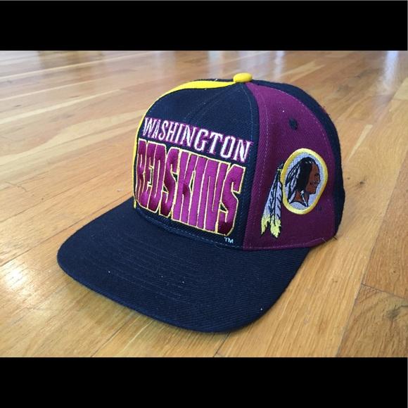 Vintage Washington Redskins NFL hat snapback. M 5939a66178b31cbf4303f583 ca27c415fa98