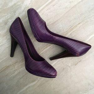 Nine West Shoes - Nine West Purple Pumps Heels