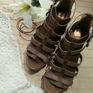 Cynthia Vincent Cage Sandals